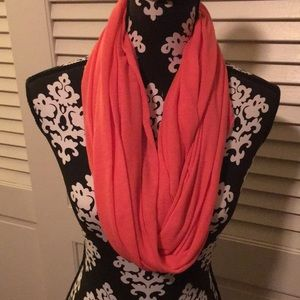 Cotton coral scarf!
